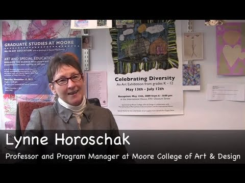 Lynne Horoschak: Moore's MA  in Art Education with Emphasis in Special Populations