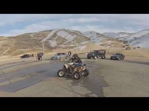 yamaha raptor 700  and cfmoto x8  at wardeh faraya lebanon