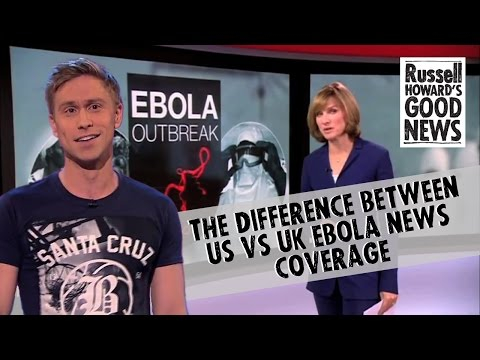 Како се известува за Еболата во Британија, а како во Америка?