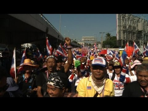 Thai opposition protesters launch Bangkok 'shutdown'