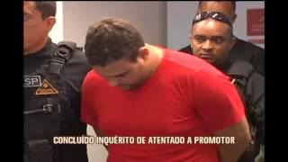 Inqu�rito sobre tentativa de homic�dio de promotor de Monte Carmelo � conclu�do