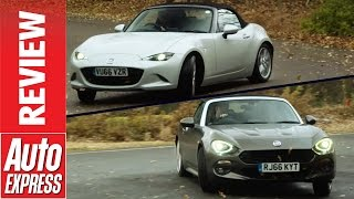 Mazda MX-5 vs Fiat 124 Spider: can Fiat out-Mazda the Mazda?. Auto Express.
