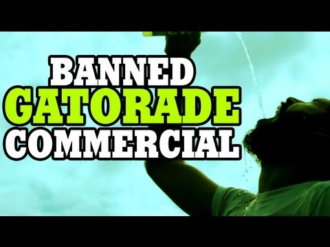 Banned Gatorade Commercial, For some reason Gatorade rejected this commercial we made for them. Music by Kevin MacLeod -------------------------------------------------- Twitter http://...