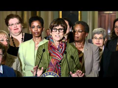 Mikulski, Murray, DeLauro, Ledbetter Speak on Senate Republican Filibuster of Paycheck Fairness Act