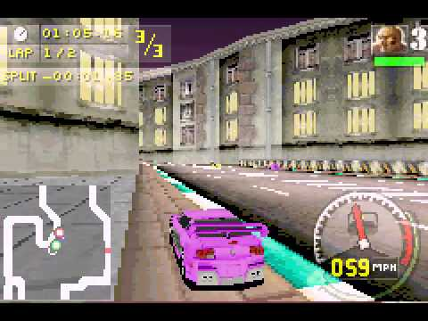 Need for Speed Carbon - Own the City - A Taste of Gameplay -- NFS Carbon - Own the City (GBA) - User video