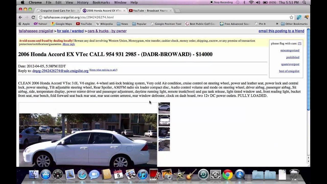 Craigslist Tallahassee Florida - Used Cars and Trucks ...