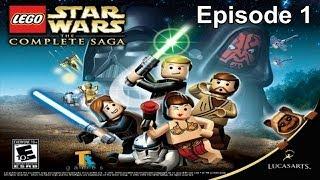 Lego Star Wars The Complete Saga Walkthrough Episode 1