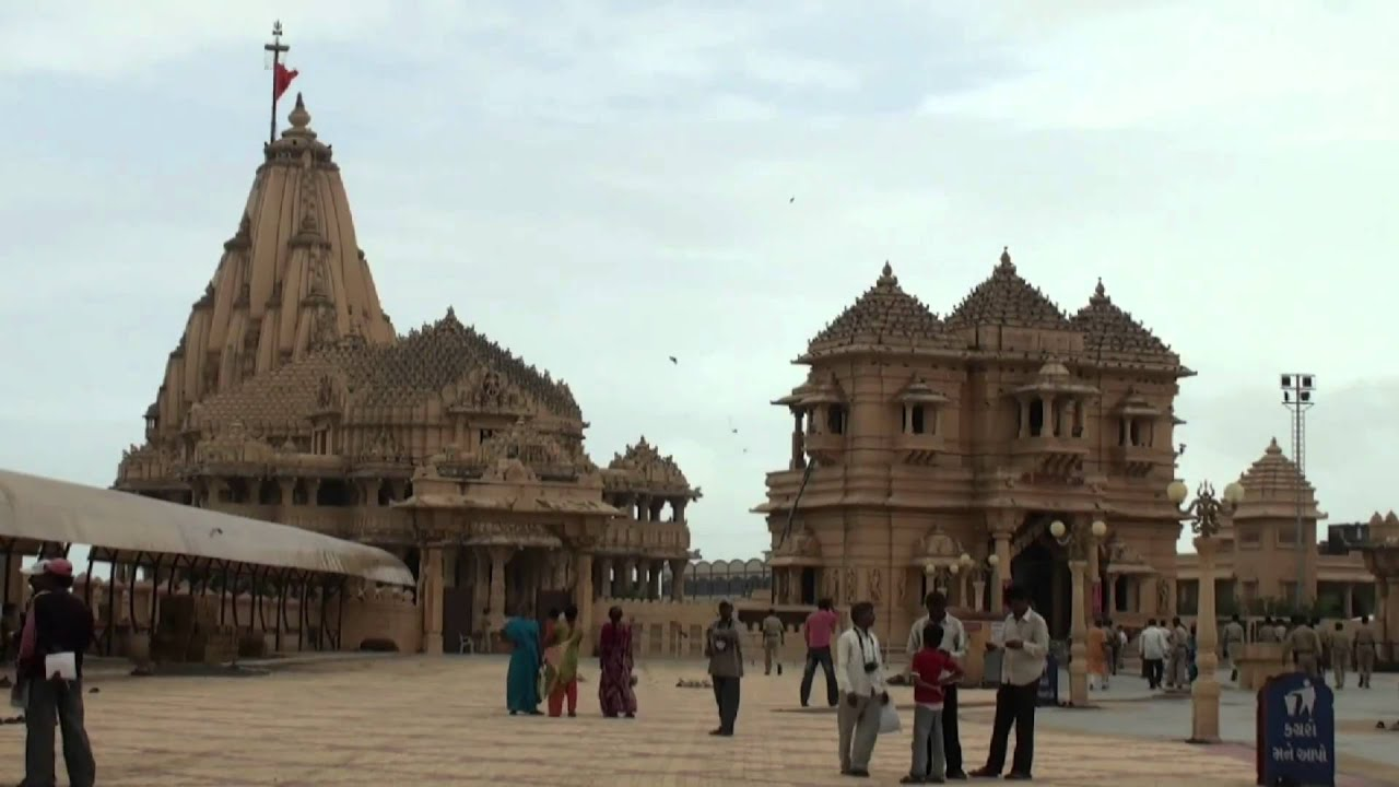 Somnath India  city photo : The temple of Somnath Gujarat India YouTube