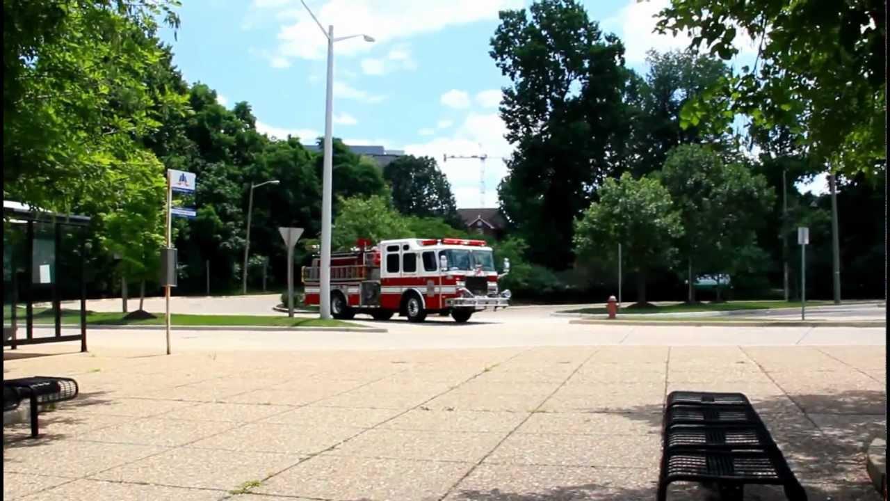 Fairfax County Va Fire Truck Responding Youtube