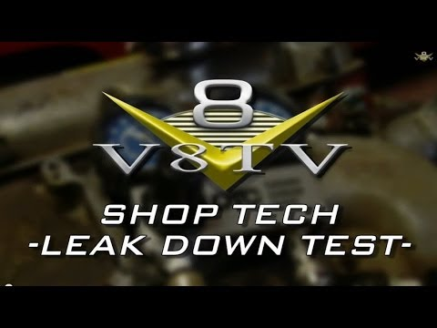 How To Do A Cylinder Leakdown Test Video V8TV