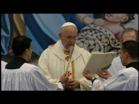 Pope Francis Visits Bethlehem