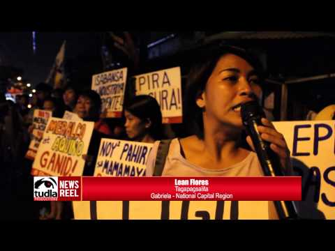 NEWSREEL: Baranggays in Tondo simultaneously turned-off lights to protest Meralco price hike