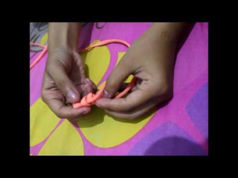 Cara Membuat Gelang dari Tali Sepatu