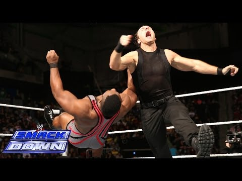 Big E Langston vs. Dean Ambrose: SmackDown, Dec. 27, 2013