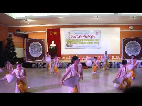 Múa: Bài ca cô giáo trẻ - Khoa Quốc tế  - 2014