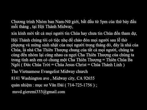 mục sư Nguyễn Hoàng Chính- giảng luận- Lời cầu nguyện cần thiết