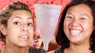 Women Try Menstrual Cups