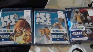 ICE AGE Trilogy Bluray Collection Unboxing (Dawn Of The