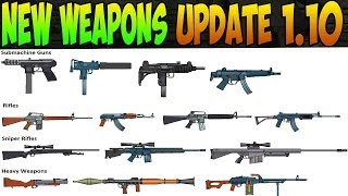 GTA 5 Online - New Weapons Update 1.10! Stun Gun, Smoke Grenade, Remote Sniper, AND MORE! GTA 5 DLC