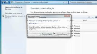 Windows 7: Para Remover O Internet Explorer 9