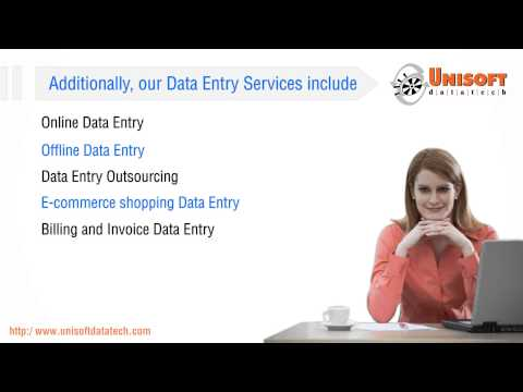 Unisoft Datatech Services India - Outsourcing Data Entry, Data Processing and Data Conversion