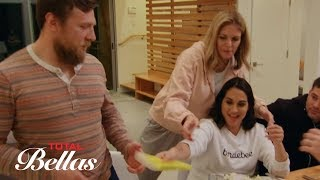 Brie and Nikki are curious when Kathy has a gift for Daniel: Total Bellas Preview Clip, Oct. 4, 2017