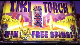Tiki Torch - Aristocrat - BIG WIN! Slot Bonus Feature