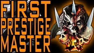 Black Ops 2 First Official Prestige Master Combat Record
