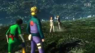 สุดมันส์! Naruto ปะทะ Bleach ในแบบ 3D