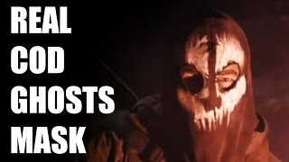 "REAL ""GHOSTS MASK"" Call Of Duty Ghosts Balaclava!"