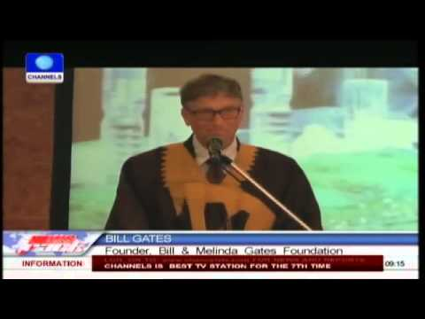 Polio Eradication: President Jonathan Joins Bill Gates
