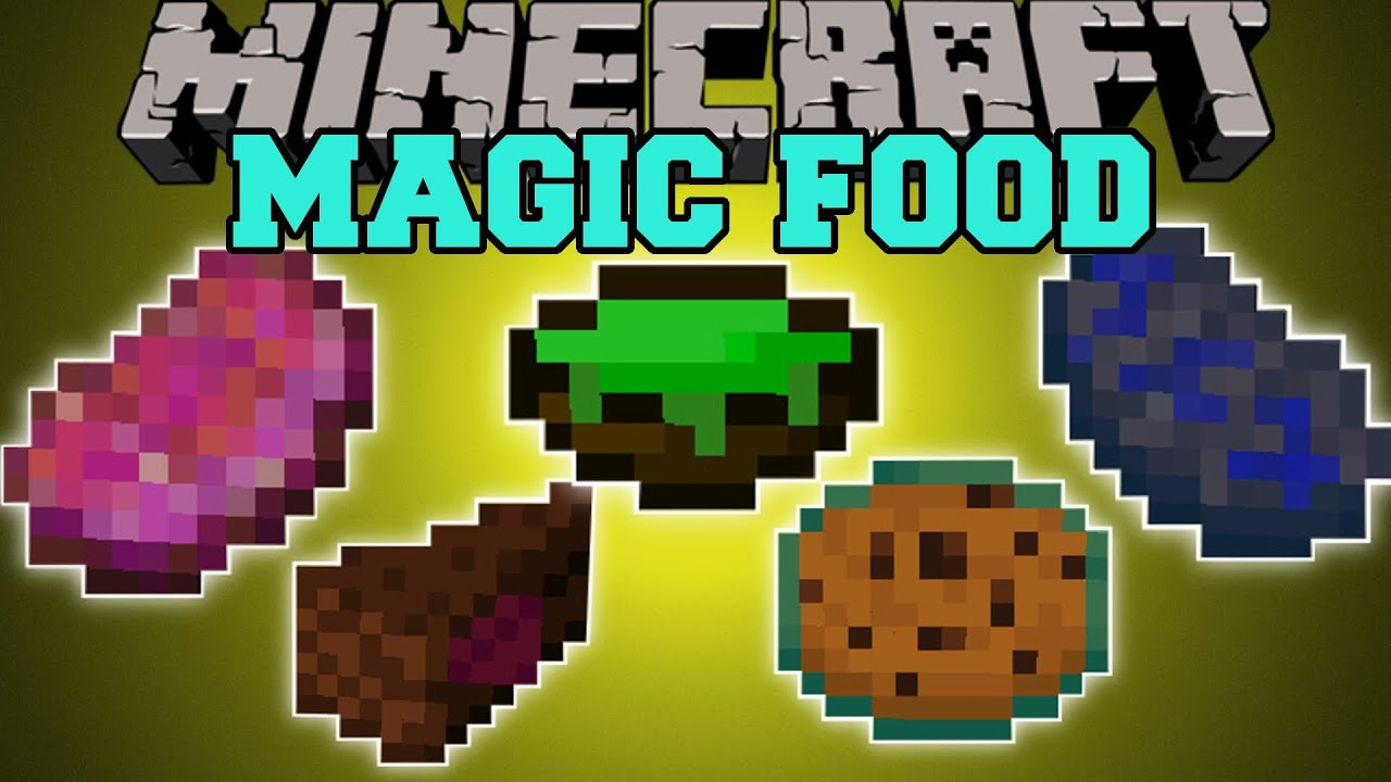 Minecraft magic food tons of food with magical potion for Cuisine minecraft