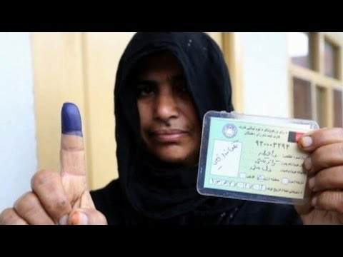 Millions Vote in Afghanistan's Historic Election