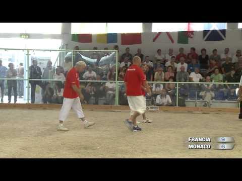 Petanque France - Monaco Championnat d'Europe 2013