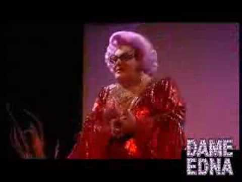 Michael Walters as Dame Edna LIVE on stage!