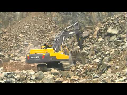 Escavatori Volvo Serie D   Walk Around video