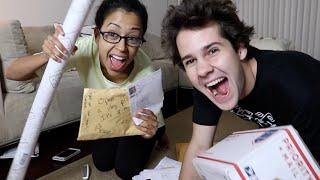 VERY INAPPROPRIATE PO BOX OPENING!! (ft. Liza Koshy)