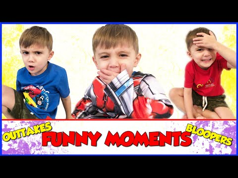 Funny Moments Outtakes and Bloopers | RowanVentures