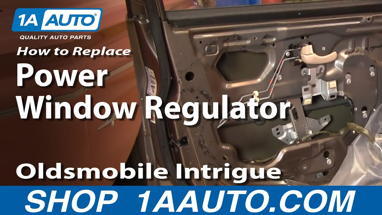 How To Install Repair Replace Broken Power Window