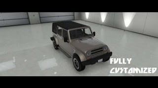 GTA V Fully Customized Canis Mesa SUV [Jeep Wrangler