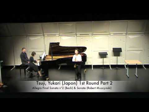 Tsuji, Yukari (Japon) 1st Round Part 2