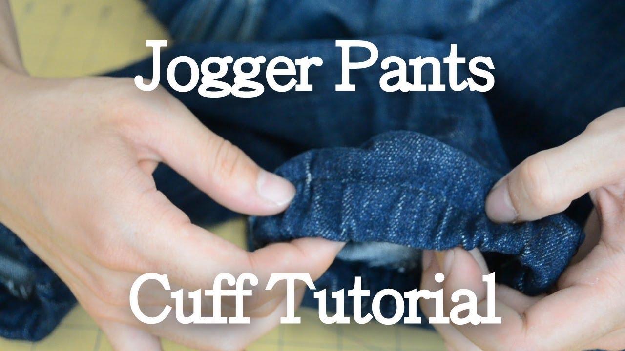 how to make jogging pants shrink