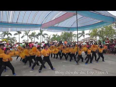 Đồng diễn thể dục Trường mầm non Thuỵ Quỳnh năm học 2013-2014