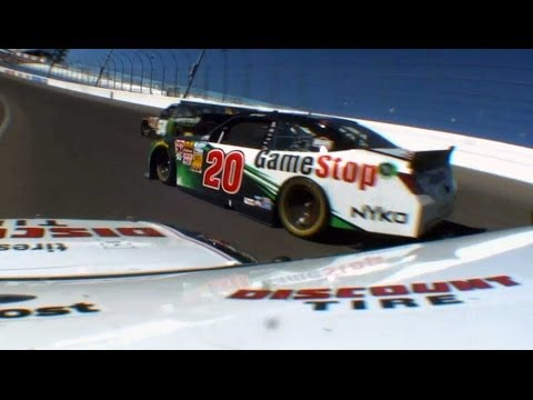 Matt Kenseth Great Save @ 2014 Boyd Gaming 300