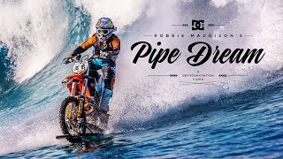 Pipe Dream: Surfing on a Motorcycle