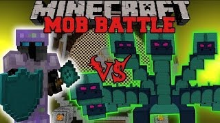 BATTLE GEAR MOD VS HYDRA - Minecraft Mod Battle - Mob Battles - Mods