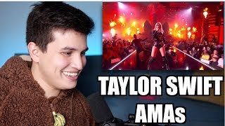 """Vocal Coach Reaction to Taylor Swift's AMAs """"I Did Something Bad"""" Performance"""