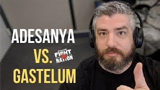 Israel Adesanya vs. Kelvin Gastelum at UFC 236!   SiriusXM   Luke Thomas