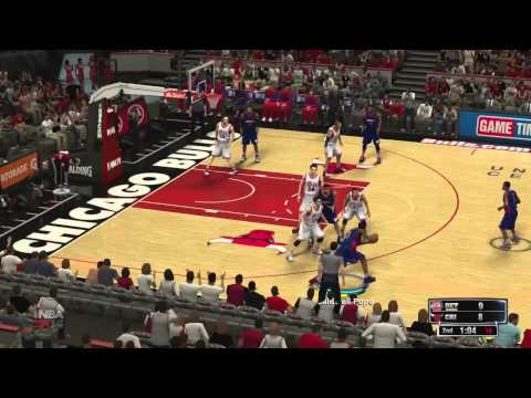 NBA 2K14 Gameplay: Chicago Bulls vs Detroit Pistons - FULL GAME + LAUNCH IMPRESSIONS!! (360/PS3/PC)