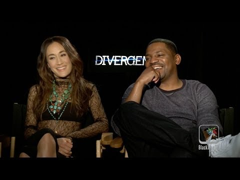 DIVERGENT interview with Mekhi Phifer and Maggie 'Q'